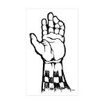 Two Tone Unite Rectangle Sticker 10 pk)