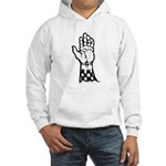 Two Tone Unite Hooded Sweatshirt