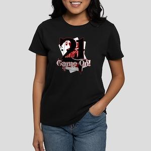 21: GAME ON! Women's Dark T-Shirt