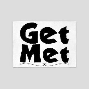 Get Met. 5'x7'Area Rug