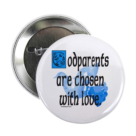 """GODPARENT 2.25"""" Button (10 pack)"""