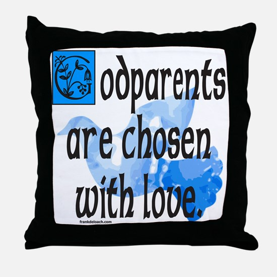GODPARENT Throw Pillow