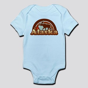 I Heart Alaska Infant Bodysuit