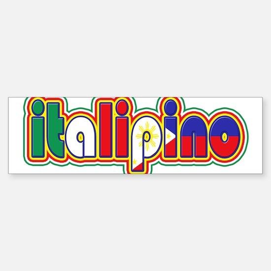 ItaliPino Bumper Car Car Sticker