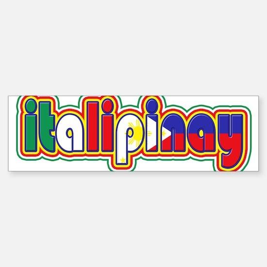 ItaliPinay Bumper Bumper Bumper Sticker