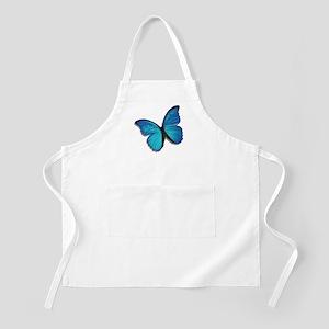 Blue Morpho Butterfly BBQ Apron