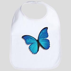 Blue Morpho Butterfly Bib
