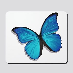 Blue Morpho Butterfly Mousepad