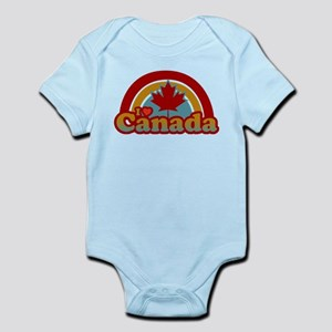 I Heart Canada Infant Bodysuit