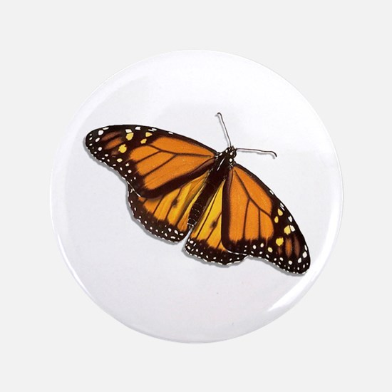 "The Monarch Butterfly 3.5"" Button"