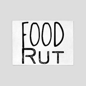 Food Rut 5'x7'Area Rug