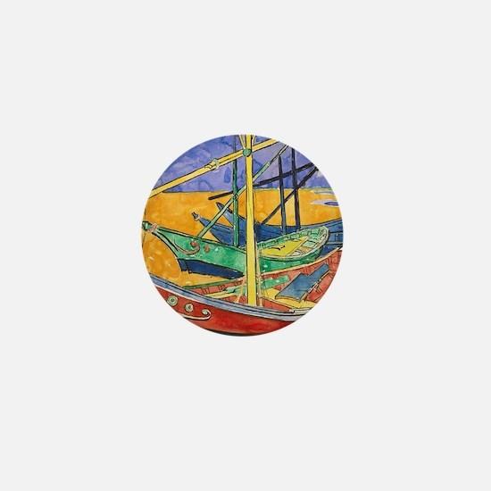 Funny French impressionism Mini Button