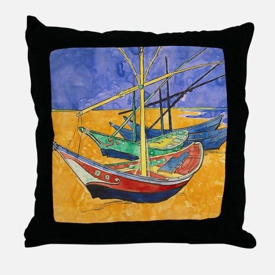 Unique Impressionist art Throw Pillow