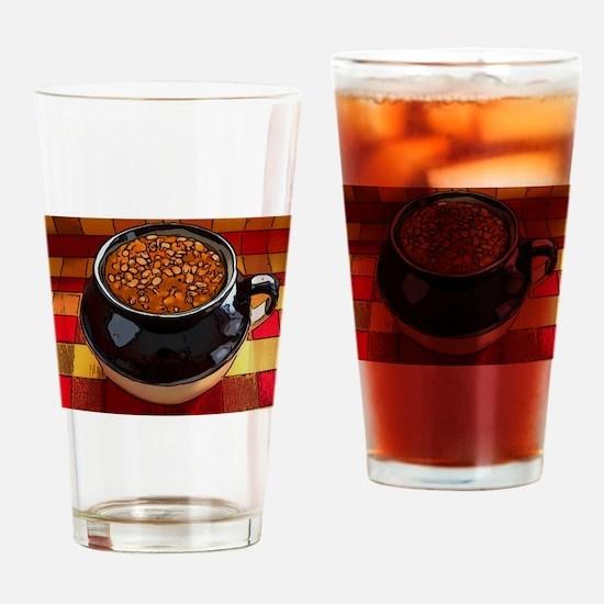 Bean pot Drinking Glass