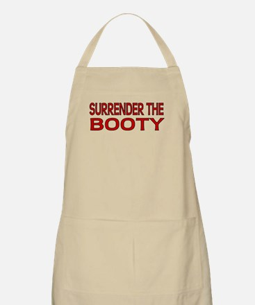 Surrender the Booty 1 BBQ Apron