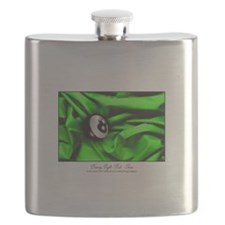 Billiards Xmas Greenery Flask