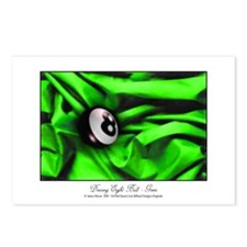 Billiards Xmas Greenery Postcards (Package of 8)