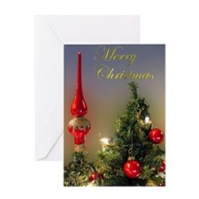 Christmas Tree Topper Greeting Card