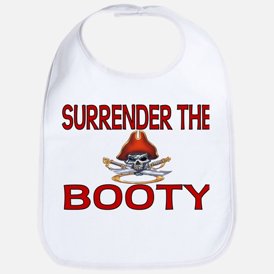 Surrender the Booty Pirate Bib