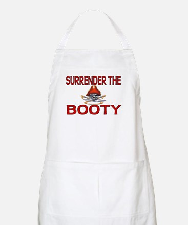 Surrender the Booty Pirate BBQ Apron