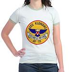 USS KLONDIKE Jr. Ringer T-Shirt