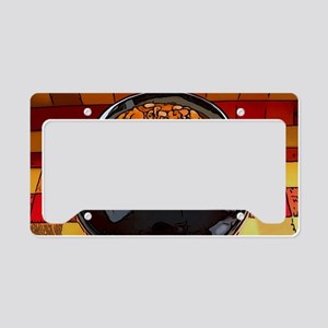 Bean pot License Plate Holder
