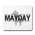 Mayday Pit Bull Rescue & Advo Mousepad
