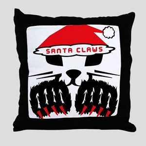 SANTA CLAWS Throw Pillow
