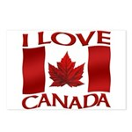 I Love Canada Souvenir Postcards (Package of 8)