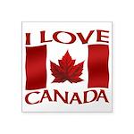 I Love Canada Souvenir Sticker