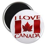 I Love Canada Souvenir Magnets