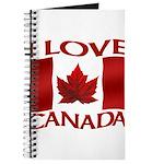I Love Canada Souvenir Journal