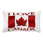 I Love Canada Souvenir Pillow Case