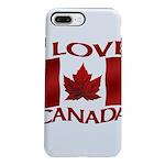 I Love Canada Souvenir iPhone 8/7 Plus Tough Case