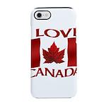 I Love Canada Souvenir iPhone 8/7 Tough Case
