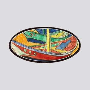 Van Gogh Boats Patch