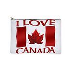 I Love Canada Souvenir Makeup Bag