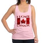 I Love Canada Souvenir Tank Top