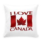 I Love Canada Souvenir Everyday Pillow