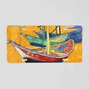 Van Gogh Boats Aluminum License Plate