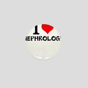 I Love Nephrology Mini Button