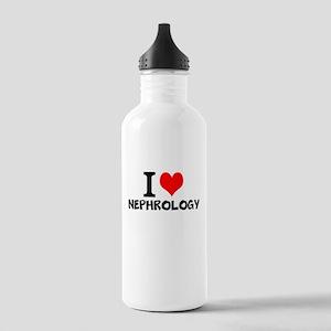I Love Nephrology Water Bottle