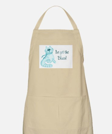 Blues Kitty BBQ Apron