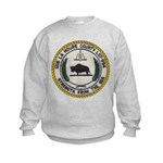 USS LA MOURE COUNTY Kids Sweatshirt