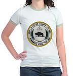 USS LA MOURE COUNTY Jr. Ringer T-Shirt