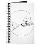 Polar Bear & Cub Art Journal