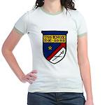 USS KNOX Jr. Ringer T-Shirt