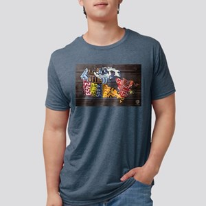 License Plate Map of Canada by Design Turnpike T-S