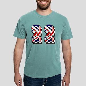 Number 22 Mens Comfort Colors® Shirt