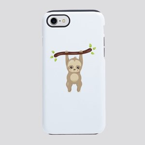 Sloth running team iPhone 8/7 Tough Case
